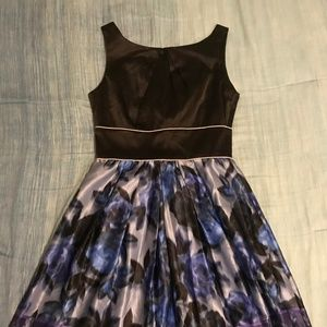 Black & Purple Dress